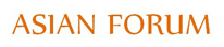 ASIAN FORUM Logo
