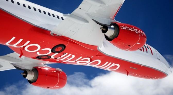 Air Berlin plant den Einsatz von WLAN