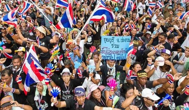 Anspannung vor der Wahl in Thailand