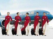 Vietnam Airlines auf der CMT in Stuttgart