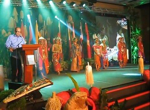 ATF 2014 in Kuching auf der Insel Borneo