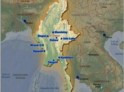 Erstes Deutsch-Myanmarisches Wirtschaftsforum in Yangon