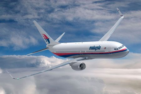 Malaysian Airline Boeing 777-200 abgestürzt