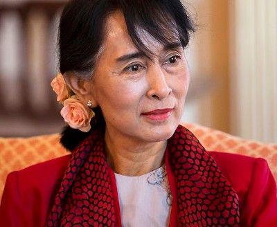 Berlin: Außenminister Steinmeier trifft Aung San Suu Kyi
