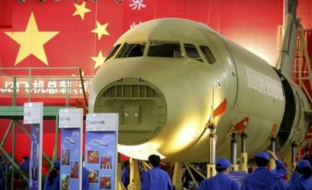 China will führender Flugzeugbauer werden