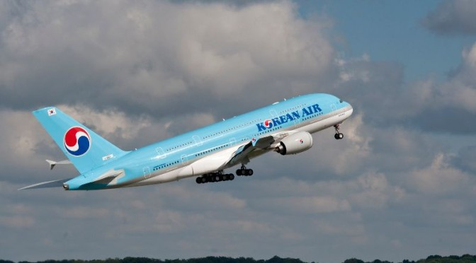 Korean Air erhält neunten Airbus A380