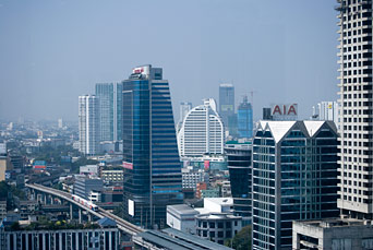 Bangkok Business district