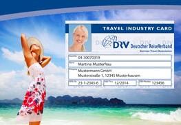 DRV: Travel Industry Card neu aufgestellt