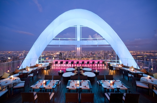 Centara Grand at CentralWorld Bangkok, Red Sky Bar
