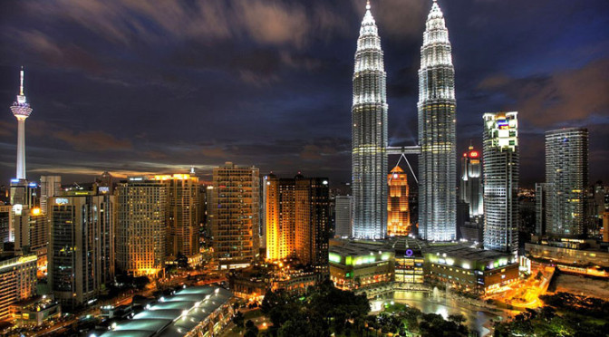 Kuala-Lumpur-night-skyline
