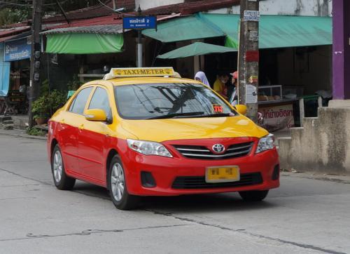 Phuket: Günstigere Taxi-Tarife mit Taxameter