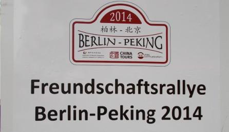 Oldtimer-Rallye von Berlin nach Beijing