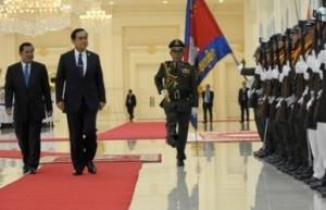 Thai-Premier besucht Phnom Penh