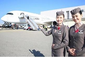Airbus A350 begibt sich auf Asien-Tour