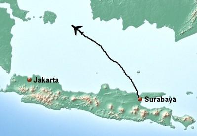 Air Asia-Maschine vom Radar verschwunden