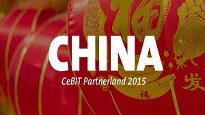 China + CeBit 2015