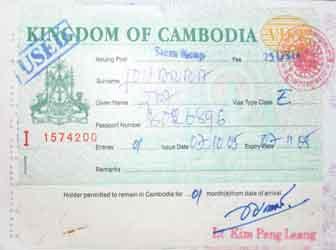Kambodscha schafft 'Visa on Arrival' ab
