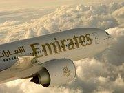 Emirates mit Boeing 777 Game Changer im Einsatz