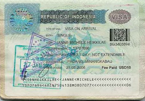 Indonesien: Deutsche brauchen kein Visum mehr