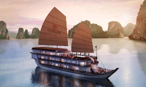 Ab 1. Juni: Luxuskreuzfahrt entlang Halong Bay