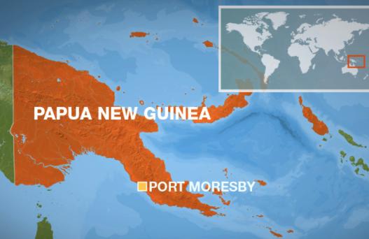 Starkes Erdbeben in Papua-Neuguinea