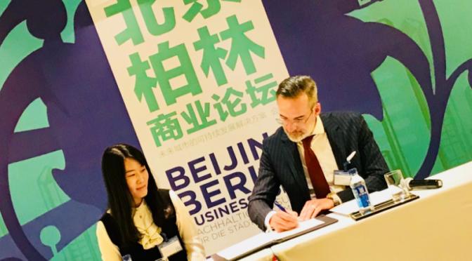 Start Alliance Berlin: Verträge mit Beijing