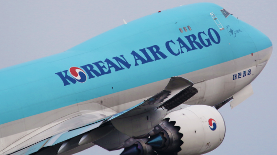 Korean Air startet Frachtflüge nach Delhi