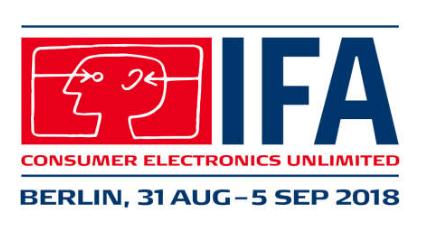 IFA 2018 : Internationale Fachmesse startet am Freitag