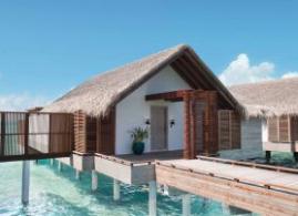 Luxuriöse Safari-Zelte auf den Malediven