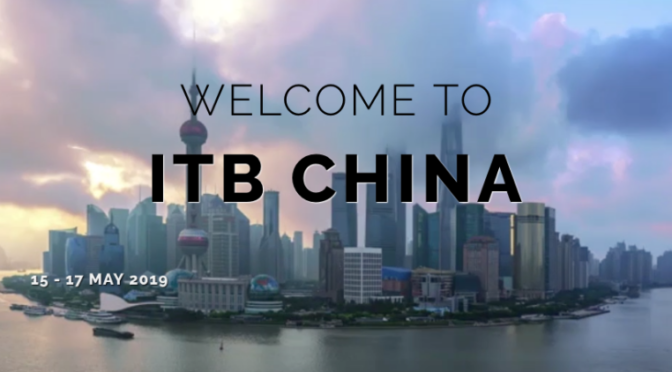 ITB China 2019 : VIR plant Gemeinschaftsstand