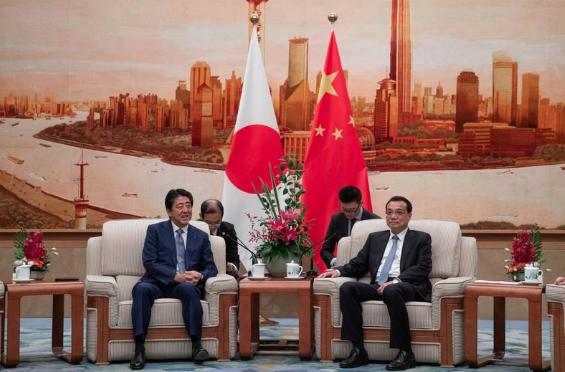 Abe in China : 50 Wirtschaftsabkommen erwartet