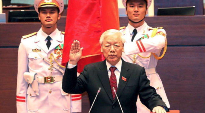 KP-Chef Trọng ist neuer vietnamesischer Präsident