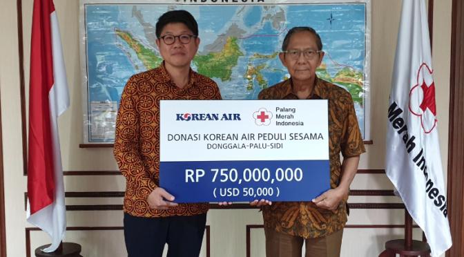 Korean Air spendet 50.000 USD für Erdbebenopfer