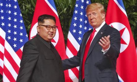 """Trump über Kim: """"Wir haben uns verliebt"""""""