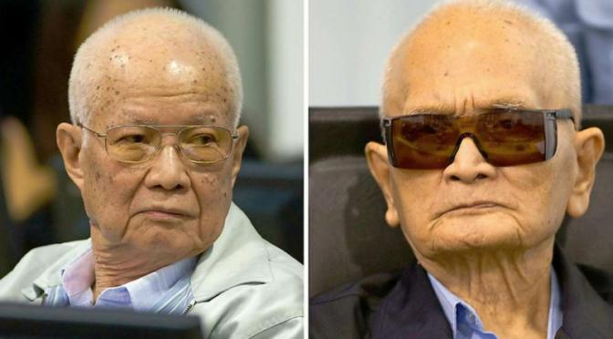 Kambodscha : Anführer der Roten Khmer verurteilt