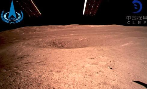 China: Chang'e 4 landet auf der Rückseite des Mondes
