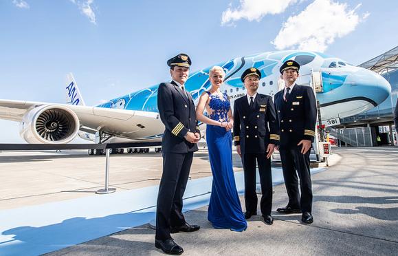 Japanische ANA erhält ihren ersten A380