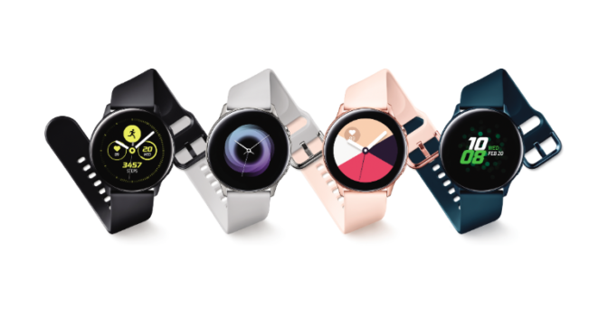 Samsung Galaxy Watch Active will Fitness fördern