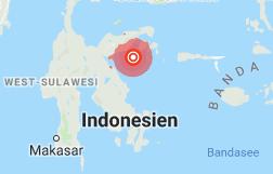 Indonesien: Erdbeben löst Tsunami-Warnung aus