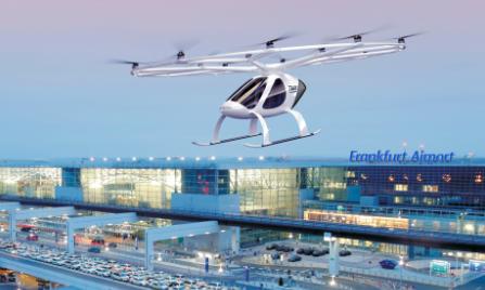 Erster Flugtaxi Volo-Port vor Ende 2019