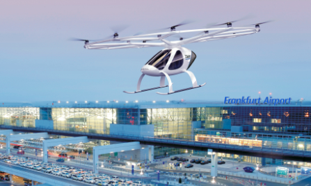 Volocopter: Whitepaper über Urban Air Mobility