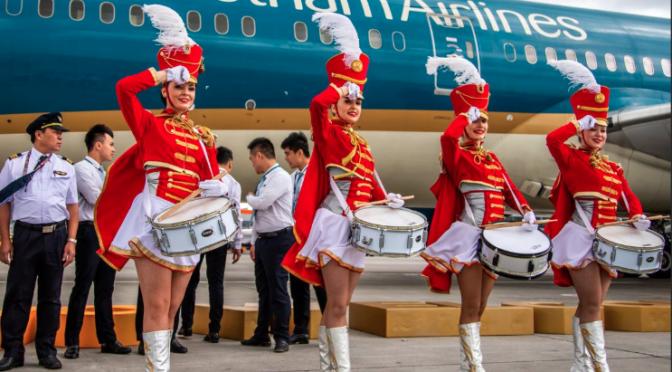 Vietnam Airlines fliegt neuen Flughafen in Moskau an
