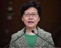 """Carrie Lam schließt """"Hilfe aus Beijing"""" nicht aus"""