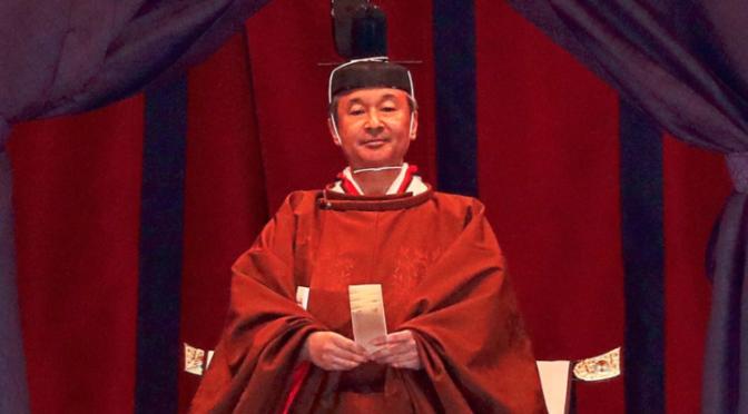 Inthronisierung von Japans neuem Kaiser Naruhito