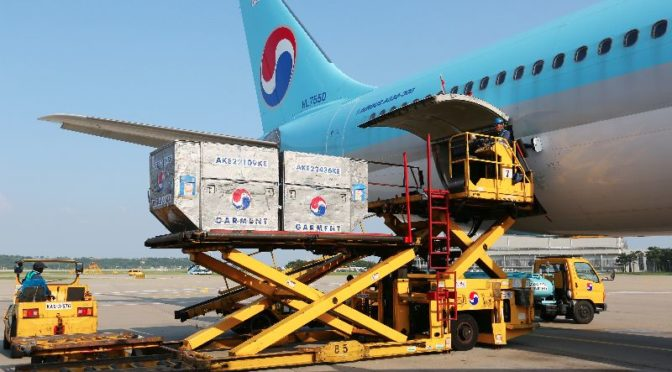 Korean Air transportiert mehr Fracht