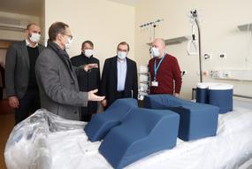 Charité: Intensivgebäude für Covid-19-Patienten