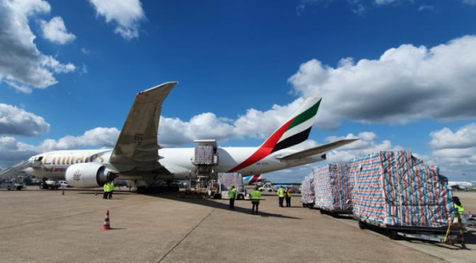 Emirates SkyCargo baut weltweites Streckennetz aus