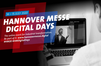 HANNOVER MESSE Digital Days am 14. und 15. Juli 2020