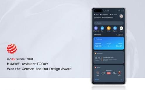 HUAWEI TODAY gewinnt  Red Dot Award 2020