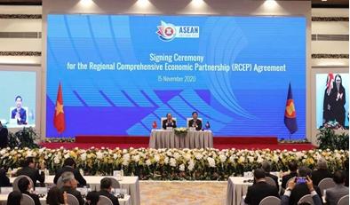RCEP: Die weltweit größte Freihandelszone